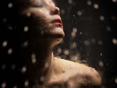 photo studio sous la douche de Karina Balzer