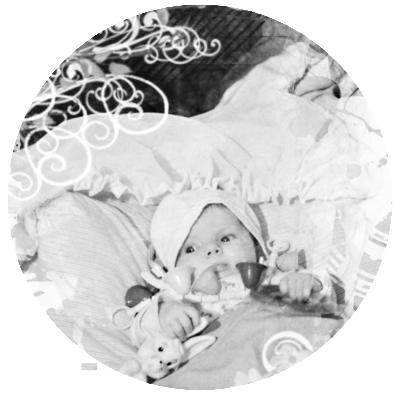 Bébé au lit, Karina Balzer