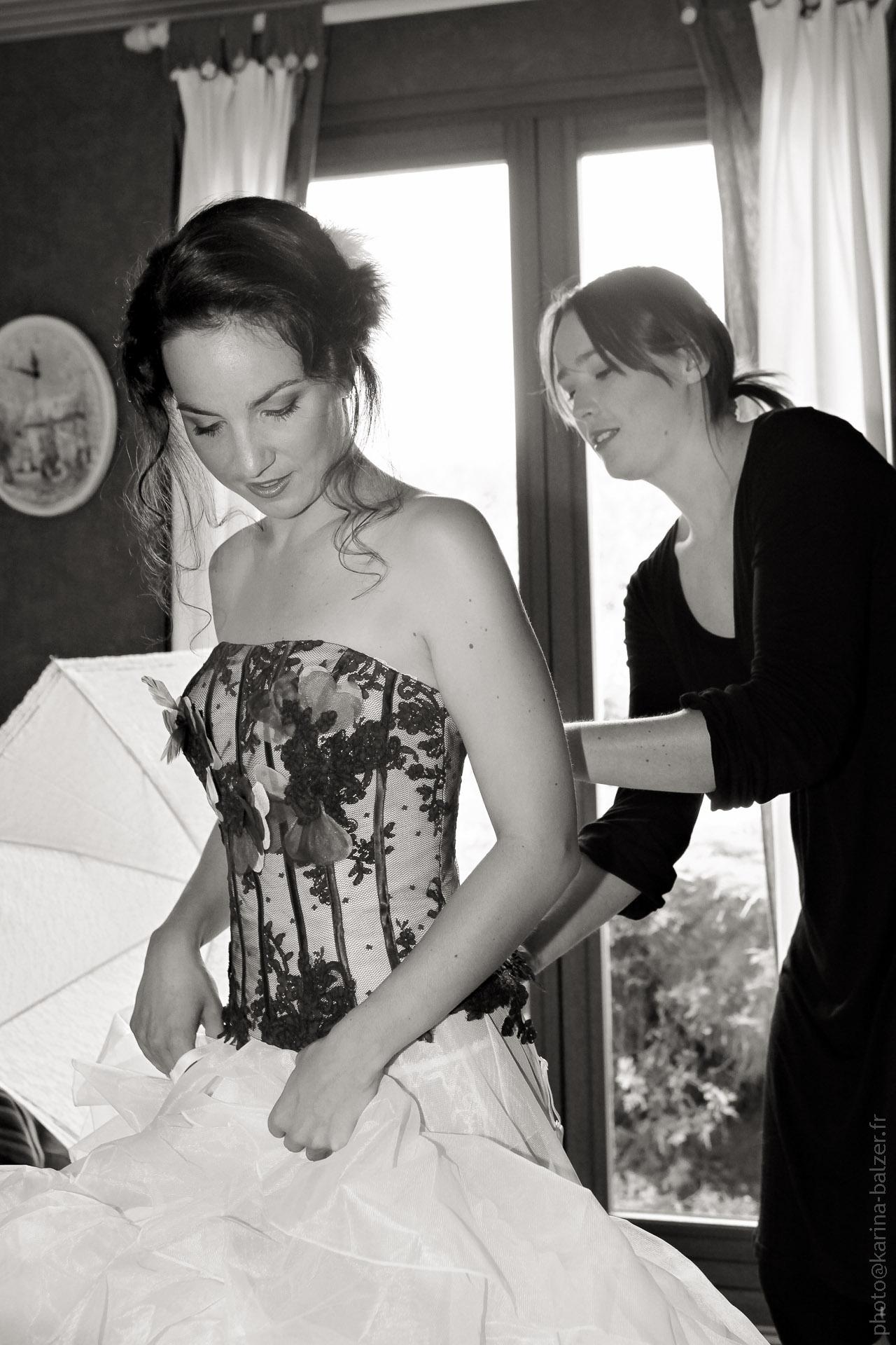 Très Mariage Noir et Blanc | Karina Balzer CR71