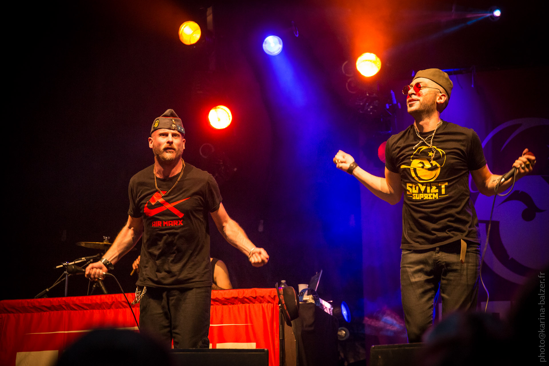 Concert SOVIET SUPREM, fêtes des vendages Suresnes 2015, photographe: Karina Balzer