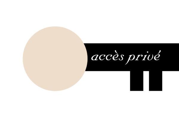 accès privé aux galeries des clients avec mot de passe